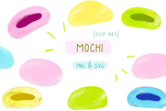 Download Free Mochi Japan Maki Sushi Japanese Food Graphic By Inkclouddesign for Cricut Explore, Silhouette and other cutting machines.