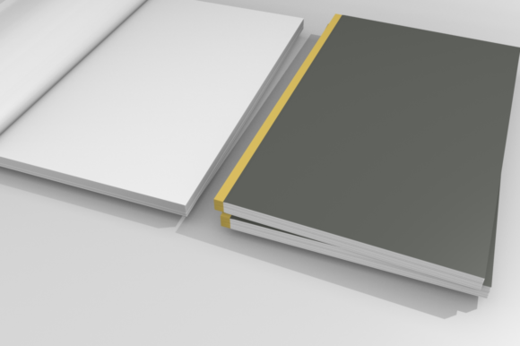 Print on Demand: Mockups for Book Cover Graphic Product Mockups By mozyenstudio - Image 3