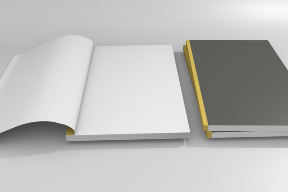 Print on Demand: Mockups for Book Cover Graphic Product Mockups By mozyenstudio - Image 7