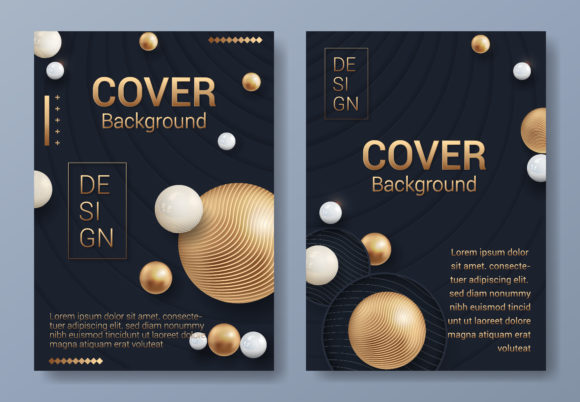 Modern Cover Background Graphic By SugarV_Creative