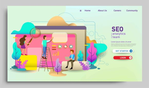 Modern Flat Design Concept of Web Page Graphic UX and UI Kits By OtpirusThree