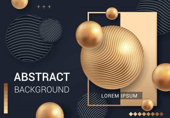 Modern Abstract Backgrond Vector Graphic By SugarV_Creative