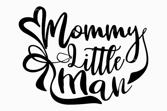 Print on Demand: Mom SVG Graphic Crafts By Arief Sapta Adjie - Image 1