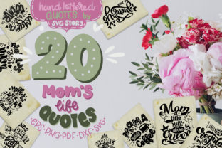Mom's Life Bundle SVG Mother's Quotes Graphic By SVG Story