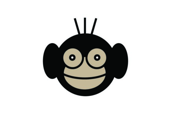 Download Free Monkey Icon Animal Icon Vector Graphic By Hoeda80 Creative for Cricut Explore, Silhouette and other cutting machines.