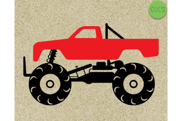 Download Free Monster Truck Svg Vector Clipart Graphic By Crafteroks for Cricut Explore, Silhouette and other cutting machines.
