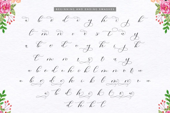 Print on Demand: Morris Duo Script & Handwritten Font By Cooldesignlab - Image 13