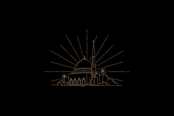 Mosque Design Template Graphic By sabavector