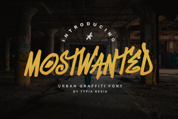 Print on Demand: Mostwanted Display Font By Typia Nesia