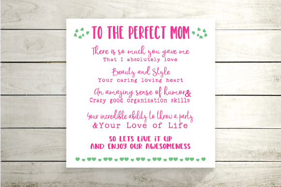 Download Free Mothers Day Quote Svg Funny Mother Day Graphic By Kayla Griffin for Cricut Explore, Silhouette and other cutting machines.