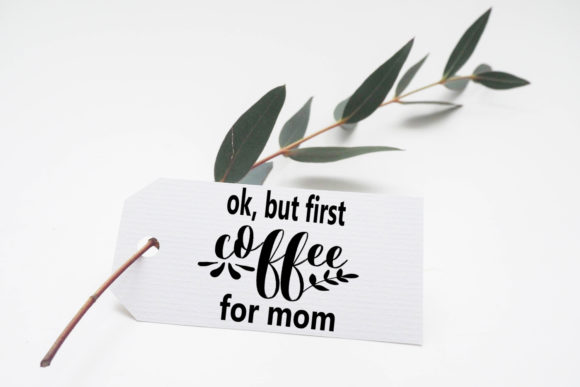 Print on Demand: Mother's Day Text Clipart-Photo Overlays Graphic Illustrations By Happy Printables Club - Image 7