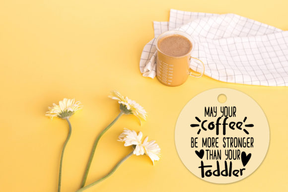 Print on Demand: Mother's Day Text Clipart-Photo Overlays Graphic Illustrations By Happy Printables Club - Image 8