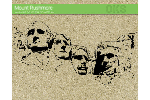 Download Free Mount Rushmore Svg Vector Graphic By Crafteroks Creative Fabrica for Cricut Explore, Silhouette and other cutting machines.