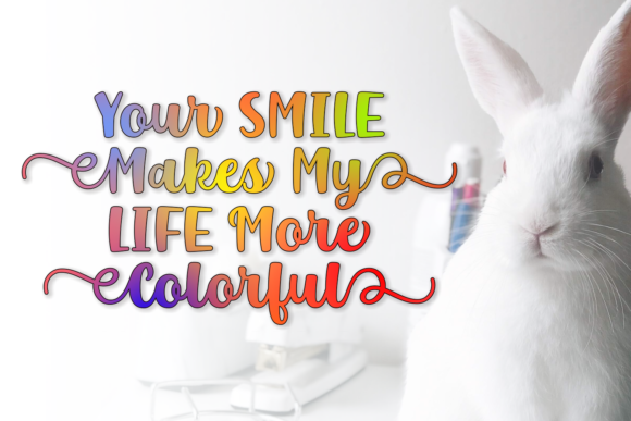 Mr. Rabbit Font Graphic By Creative Fabrica Fonts - Image 3