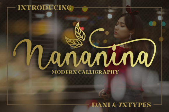 Print on Demand: Nananina Script & Handwritten Font By Dani (7NTypes)