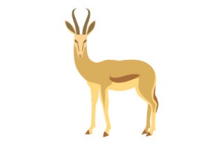 National Animal  Springbok South Africa Craft Cut File By Creative Fabrica Crafts