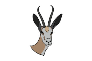 National Animal - Springbok Craft Design By Creative Fabrica Crafts