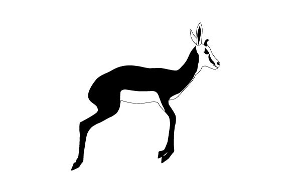 Download Free National Animal Springbok Svg Cut File By Creative Fabrica for Cricut Explore, Silhouette and other cutting machines.