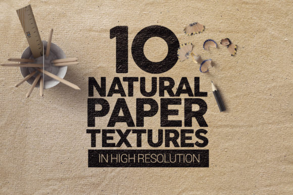 Natural Paper Textures X10 Graphic Textures By SmartDesigns