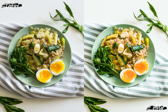 Print on Demand: Neo Yummy Food Mobile Lightroom Presets Graphic Actions & Presets By 3Motional