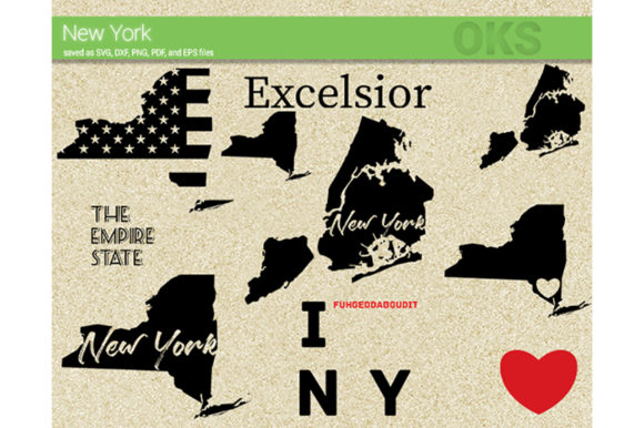 Download Free New York Vector Graphic By Crafteroks Creative Fabrica for Cricut Explore, Silhouette and other cutting machines.