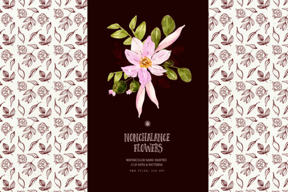 Nonchalance Flowers Graphic Illustrations By webvilla - Image 2