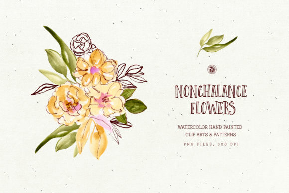 Nonchalance Flowers Graphic Illustrations By webvilla - Image 3