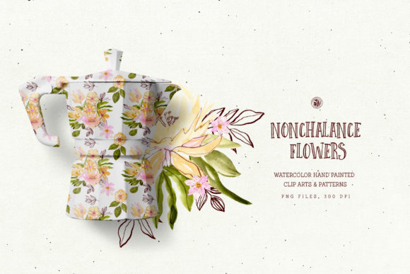 Nonchalance Flowers Graphic Illustrations By webvilla - Image 4
