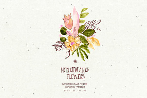 Nonchalance Flowers Graphic Illustrations By webvilla - Image 6