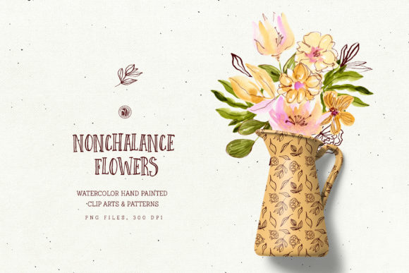 Nonchalance Flowers Graphic Illustrations By webvilla