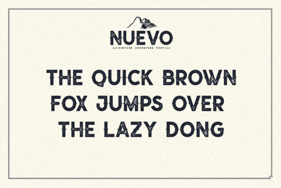 Print on Demand: Nuevo Display Font By Sameeh Media - Image 3