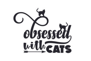 Obsessed with Cats Craft Design By Creative Fabrica Crafts