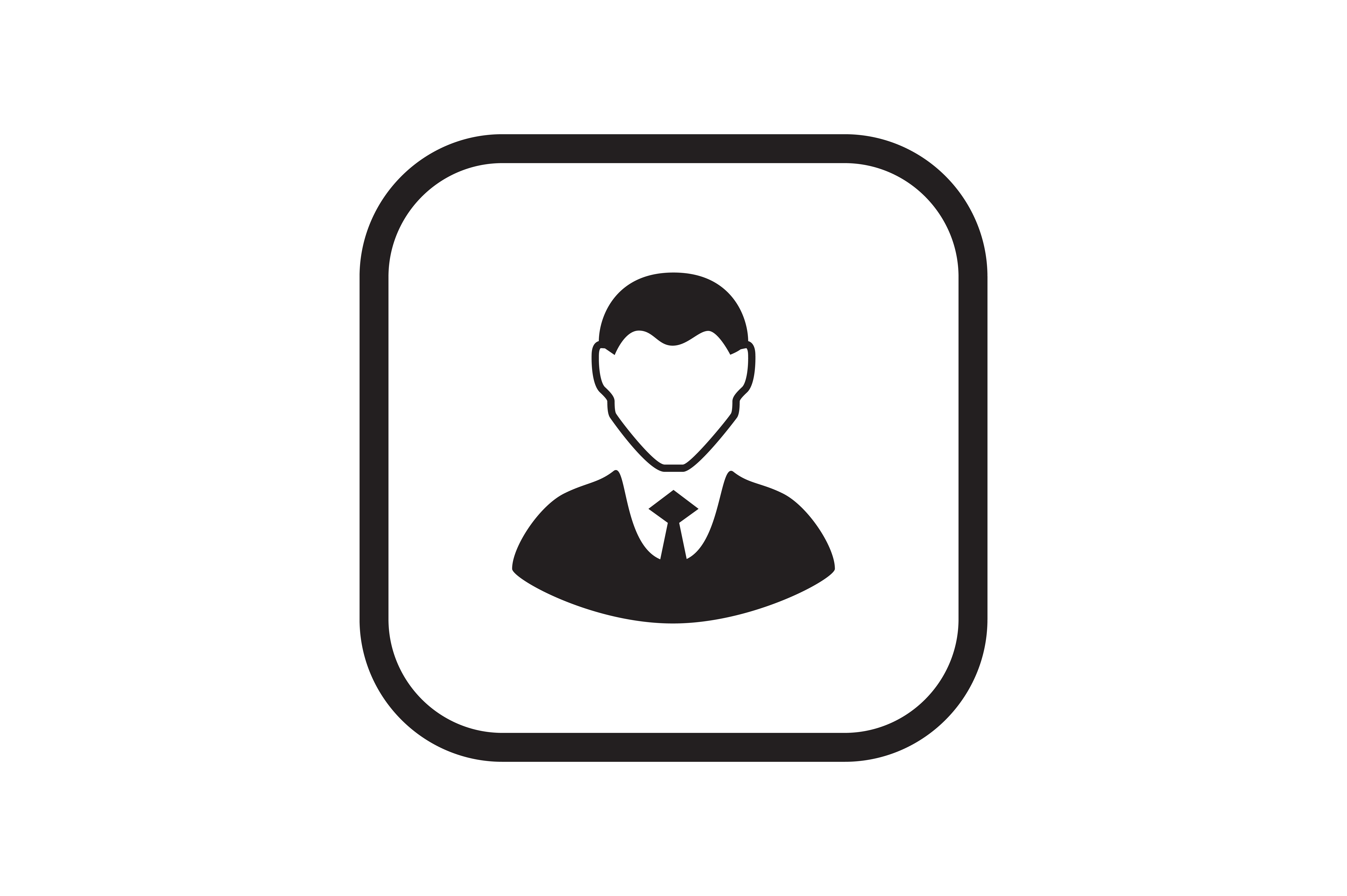 Download Free Office Worker Icon Graphic By Zafreeloicon Creative Fabrica for Cricut Explore, Silhouette and other cutting machines.