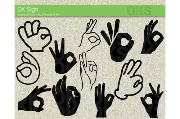 Download Free Ok Sign Vector Clipart Hand Sign Graphic By Crafteroks for Cricut Explore, Silhouette and other cutting machines.