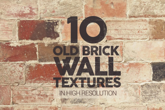 Old Brick Wall Textures X10 Graphic Textures By SmartDesigns
