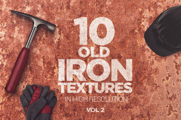 Old Iron Textures X10 Vol2 Graphic Textures By SmartDesigns