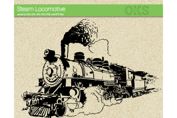 Download Free Old Steam Train Svg Vector Graphic By Crafteroks Creative Fabrica for Cricut Explore, Silhouette and other cutting machines.