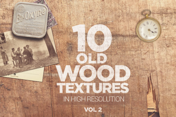 Old Wood Textures X10 Vol2 Graphic Textures By SmartDesigns