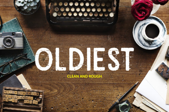 Print on Demand: Oldiest Display Font By da_only_aan