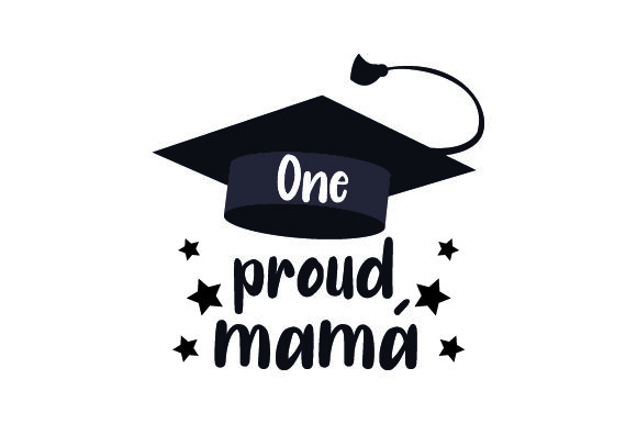Download Free One Proud Mama Svg Cut File By Creative Fabrica Crafts for Cricut Explore, Silhouette and other cutting machines.