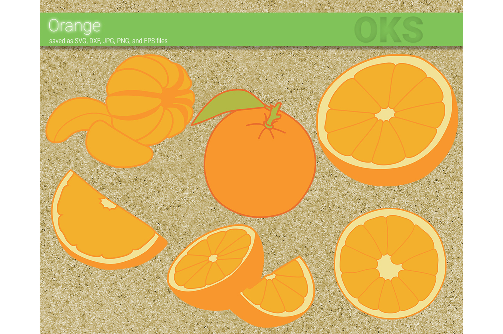 Download Free Orange Fruit Vector Graphic By Crafteroks Creative Fabrica for Cricut Explore, Silhouette and other cutting machines.