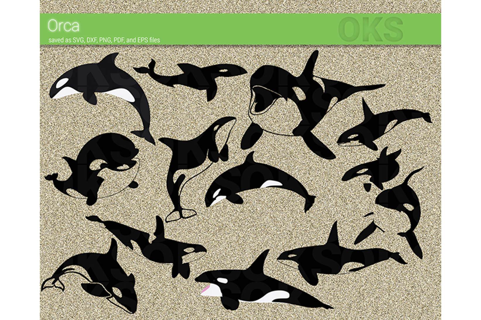 Download Free Orca Killer Whale Svg Vector Graphic By Crafteroks Creative for Cricut Explore, Silhouette and other cutting machines.