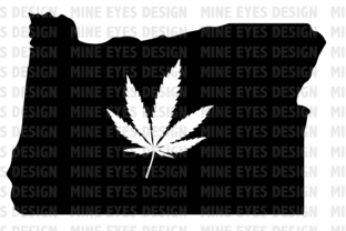Download Free Oregon Weed State Graphic By Mine Eyes Design Creative Fabrica for Cricut Explore, Silhouette and other cutting machines.