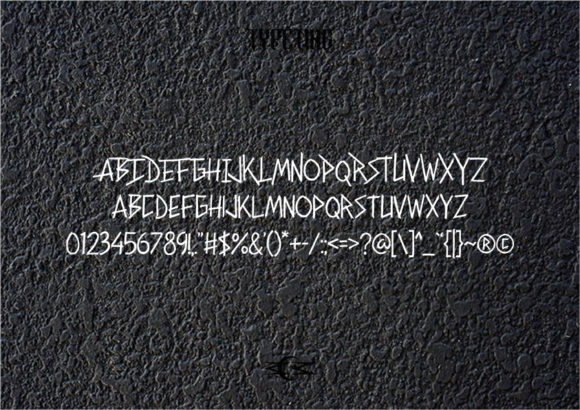 Print on Demand: Other Side Display Font By Typeting Studio - Image 3