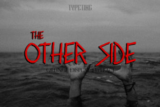 Other Side Font By Typeting Studio