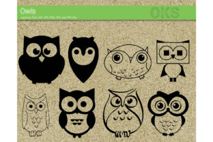 Download Free Owl Vector Graphic By Crafteroks Creative Fabrica for Cricut Explore, Silhouette and other cutting machines.