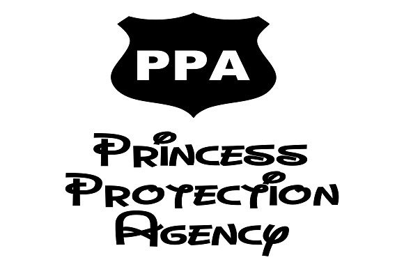 PPA - Princess Protection Agency Graphic Crafts By Family Creations