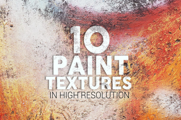 Paint Textures X10 Graphic Textures By SmartDesigns