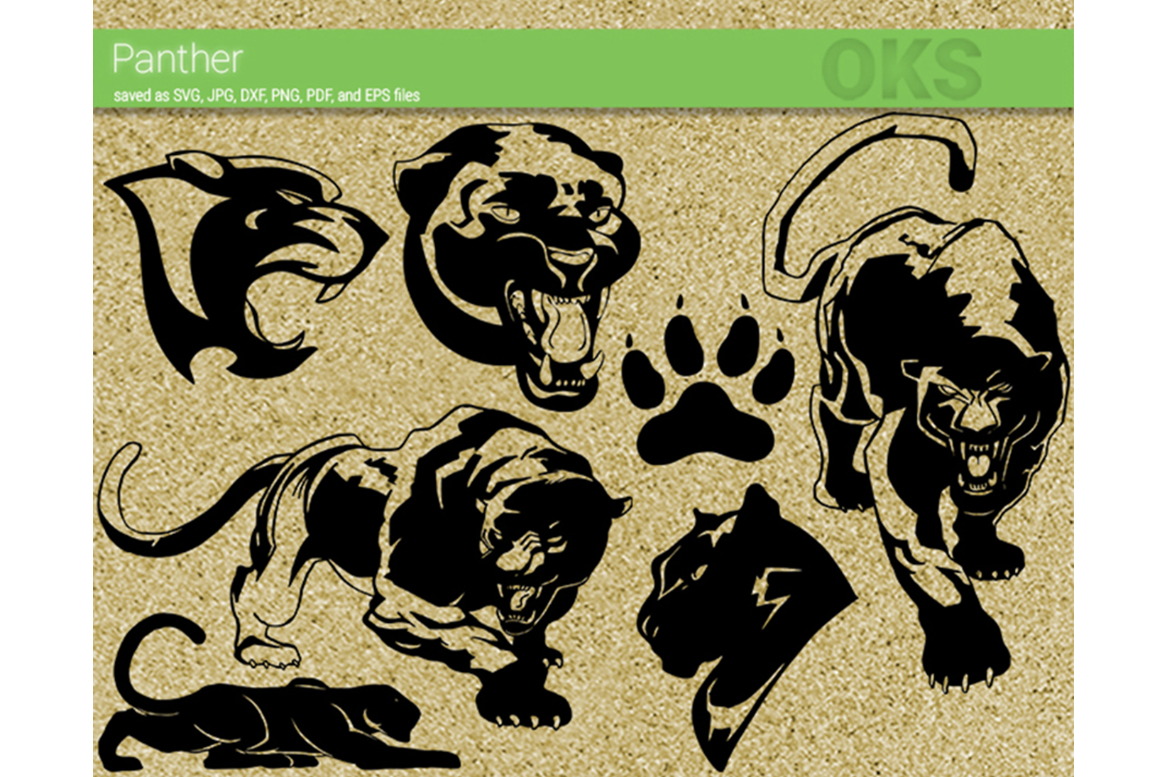 Download Free Panther Graphic By Crafteroks Creative Fabrica for Cricut Explore, Silhouette and other cutting machines.