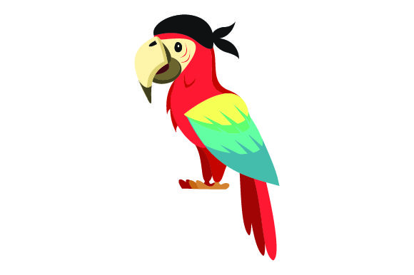 Parrot Svg Cut File By Creative Fabrica Crafts Creative Fabrica